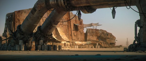 Star Wars The Force Awakens Concept Art Image #13