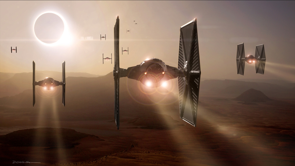 Concept Art - Star Wars The Force Awakens