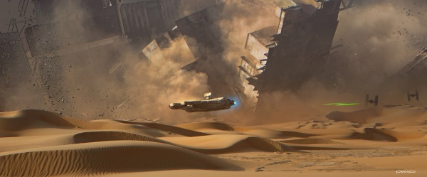 Star Wars The Force Awakens Concept Art Image #20