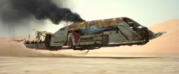 Star Wars The Force Awakens Concept Art Image #27
