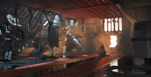 Star Wars The Force Awakens Concept Art Image #30