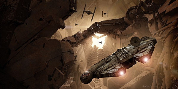Star Wars The Force Awakens Concept Art Image #32