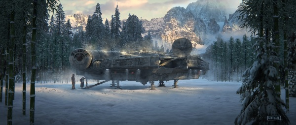 Star Wars The Force Awakens Concept Art Image #36