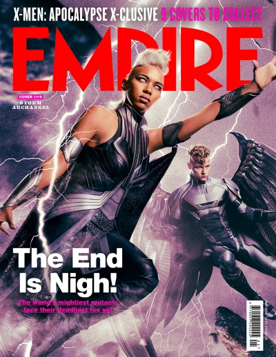 X-Men Apocalypse Empire Magazine Covers 1 of 9