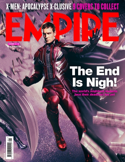 X-Men Apocalypse Empire Magazine Covers 2 of 9