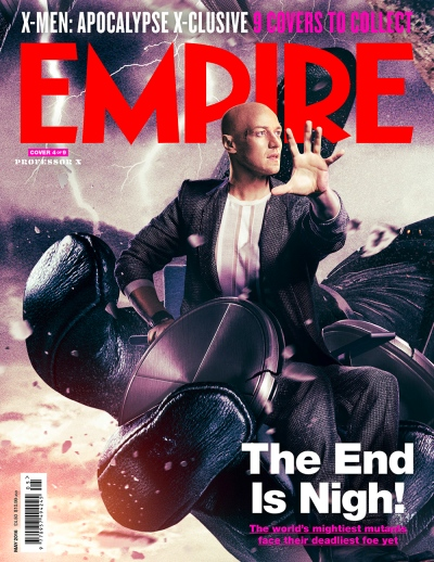 X-Men Apocalypse Empire Magazine Covers 4 of 9