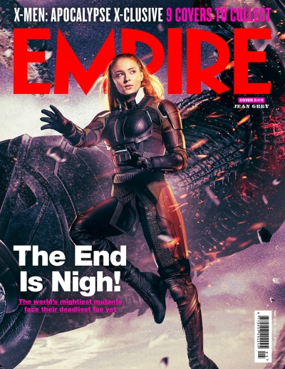 X-Men Apocalypse Empire Magazine Covers 5 of 9
