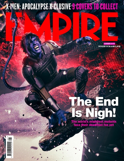 X-Men Apocalypse Empire Magazine Covers 6 of 9