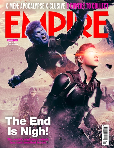 X-Men Apocalypse Empire Magazine Covers 7 of 9