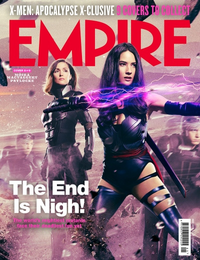 X-Men Apocalypse Empire Magazine Covers 8 of 9