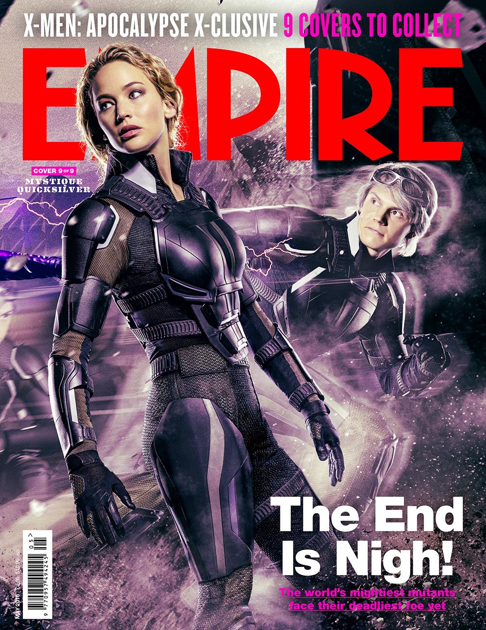 X-Men: Apocalypse New Trailer and Magazine CoversReggie's ...