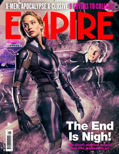 X-Men Apocalypse Empire Magazine Covers 9 of 9