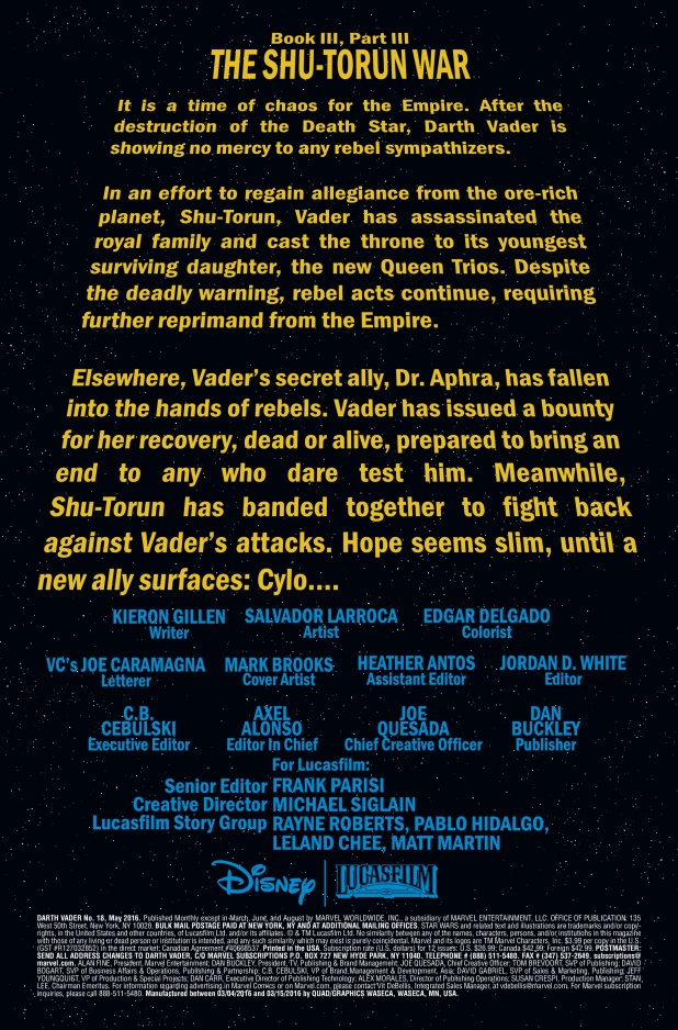 Darth Vader #18 Page 1