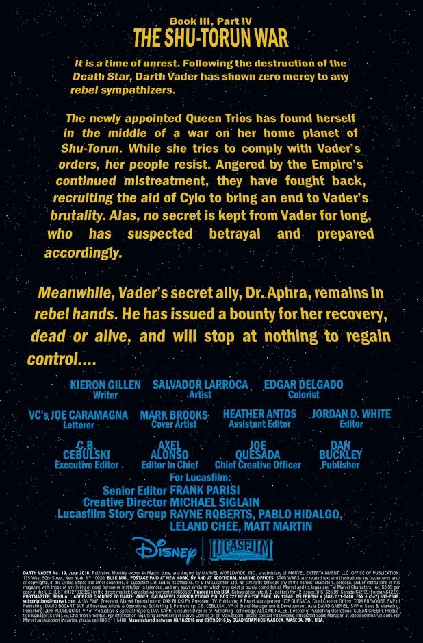 Darth Vader #19 Page 1