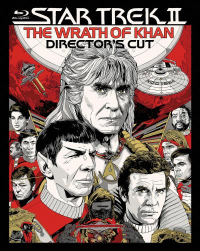 Star Trek II The Wrath of Khan Blu-ray Cover Image