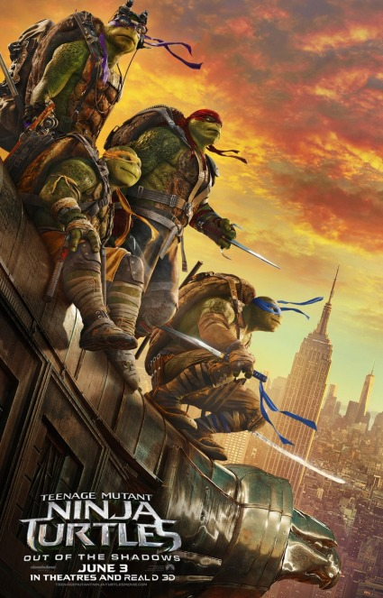 Teenage Mutant Ninja Turtles Out of the Shadows Poster #10