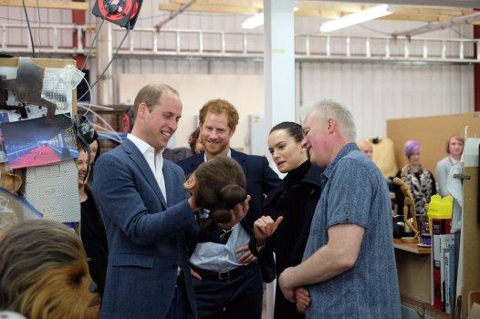 The Royals on set Star Wars Epiosde VIII Image 1