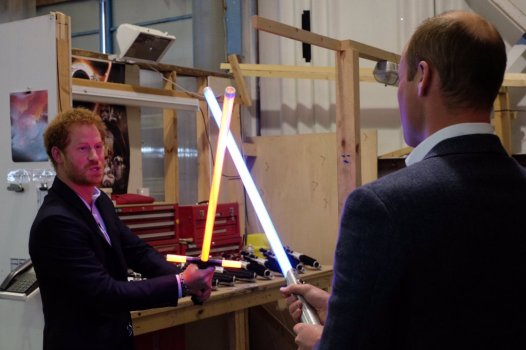 The Royals on set Star Wars Epiosde VIII Image 2