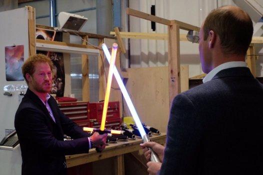The Royals on set Star Wars Epiosde VIII Image 2