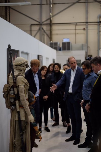 The Royals on set Star Wars Epiosde VIII Image 3