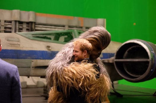 The Royals on set Star Wars Epiosde VIII Image 4