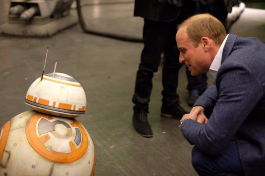 The Royals on set Star Wars Epiosde VIII Image 5
