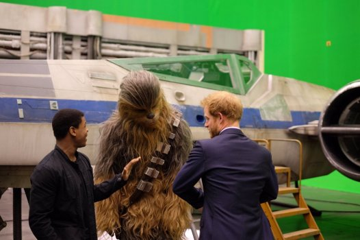 The Royals on set Star Wars Epiosde VIII Image 7