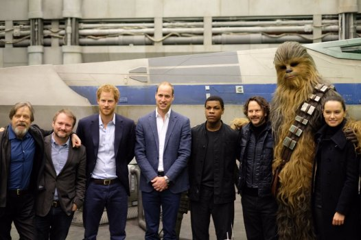 The Royals on set Star Wars Epiosde VIII Image 9