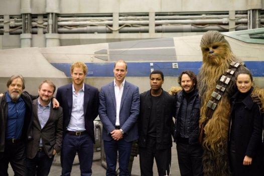 The Royals on set Star Wars Epiosde VIII Image 9