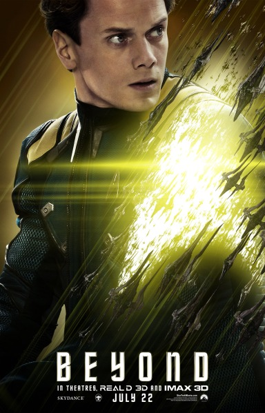 Star Trek Beyond Character Poster #3