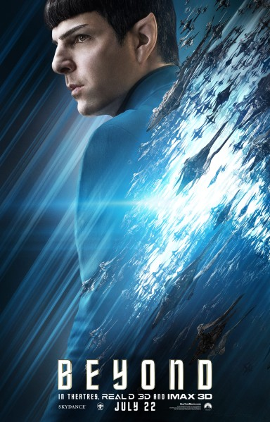 Star Trek Beyond Character Poster #4