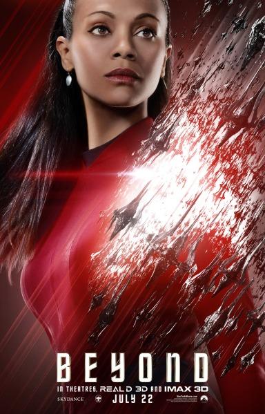 Star Trek Beyond Character Poster #6