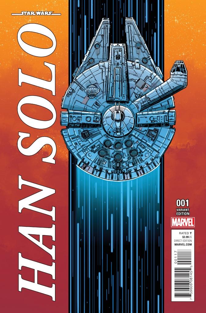 Star Wars Han Solo #1 Cover B