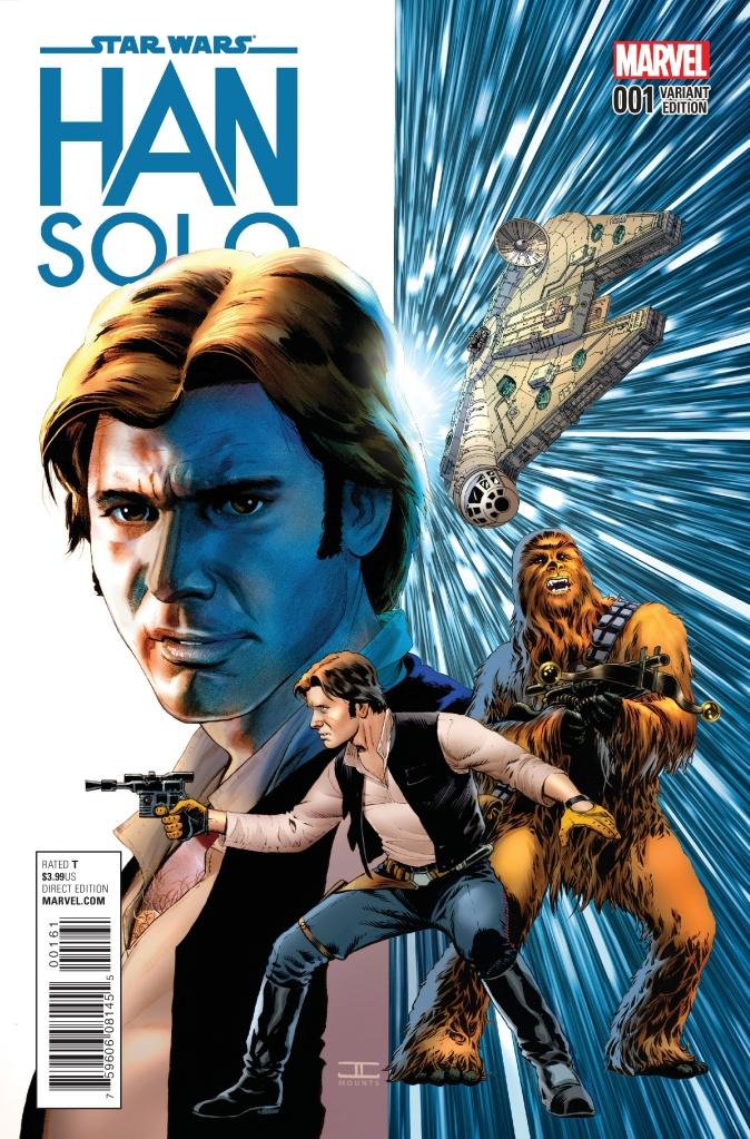 Star Wars Han Solo #1 Cover E