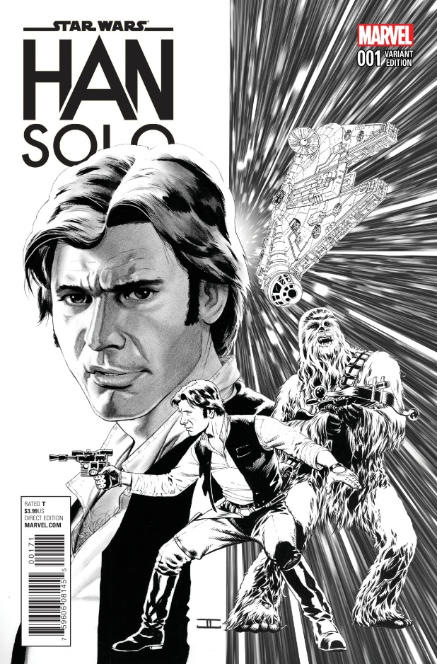 Star Wars Han Solo #1 Cover F