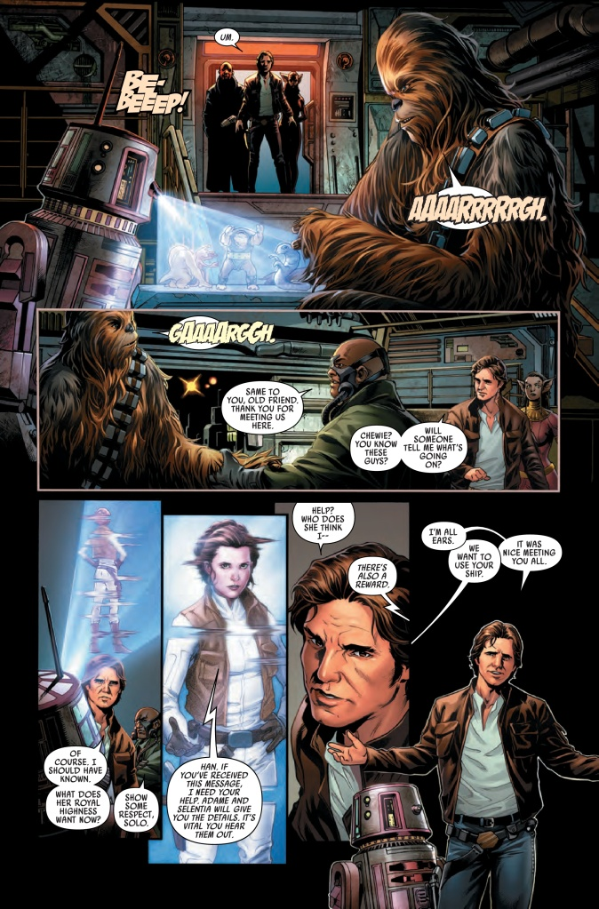 Star Wars Han Solo #1 Page 5