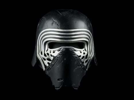 Star Wars Replicas Kylo Ren Helmet Front Image #1
