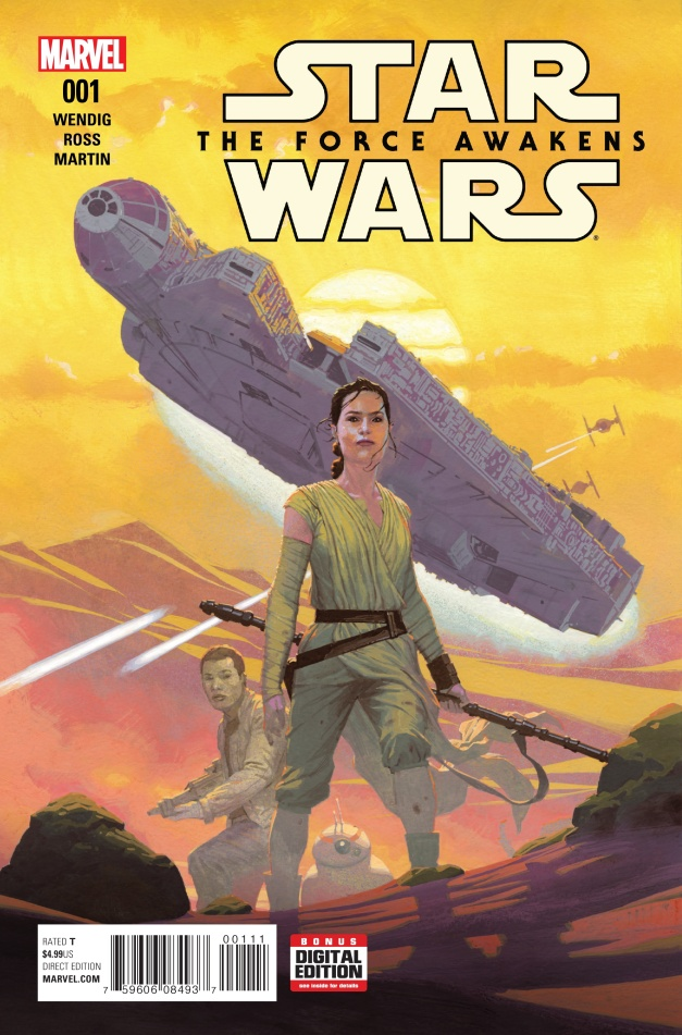 Star Wars The Force Awakens Cover #A
