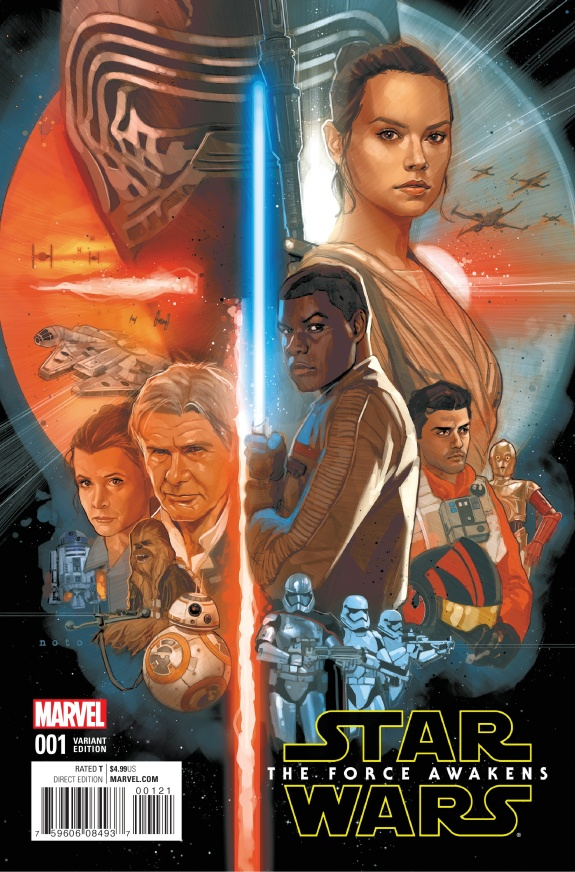 Star Wars The Force Awakens Cover #B