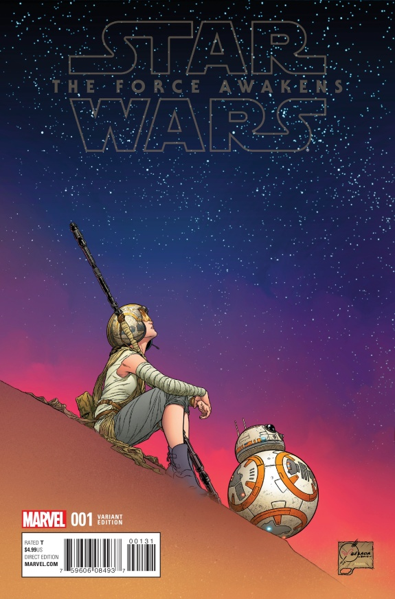 Star Wars The Force Awakens Cover #C