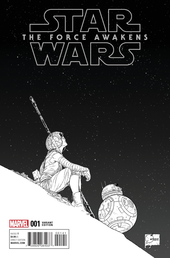 Star Wars The Force Awakens Cover #D
