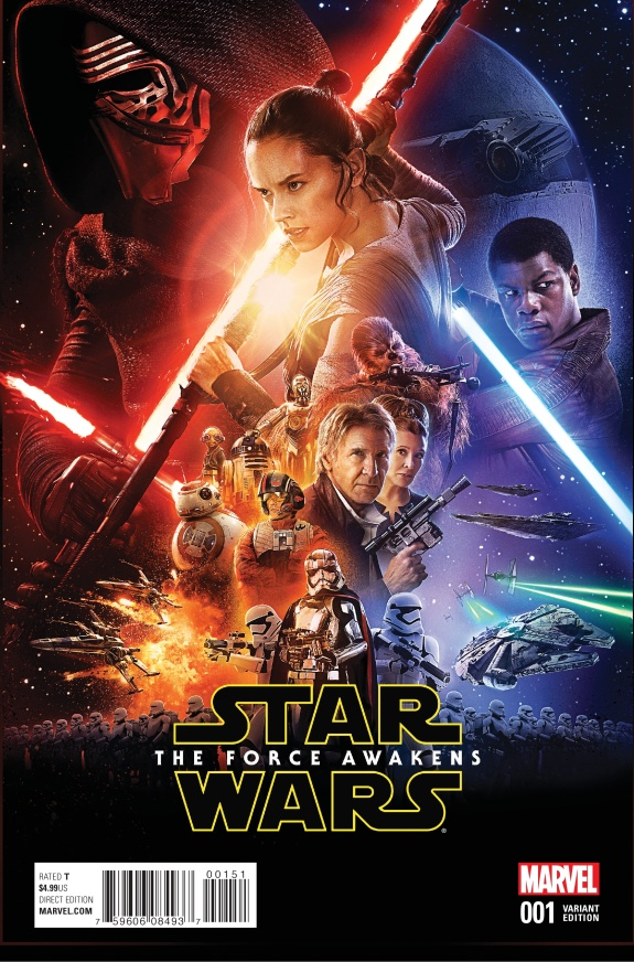 Star Wars The Force Awakens Cover #E