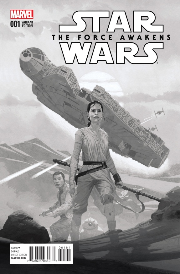 Star Wars The Force Awakens Cover #F