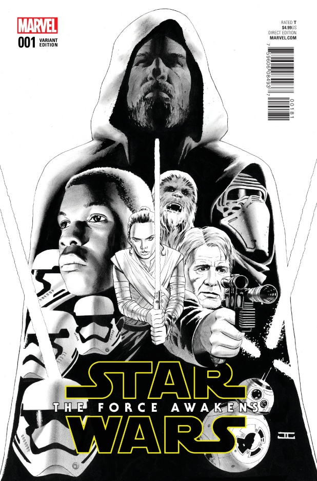 Star Wars The Force Awakens Cover #G