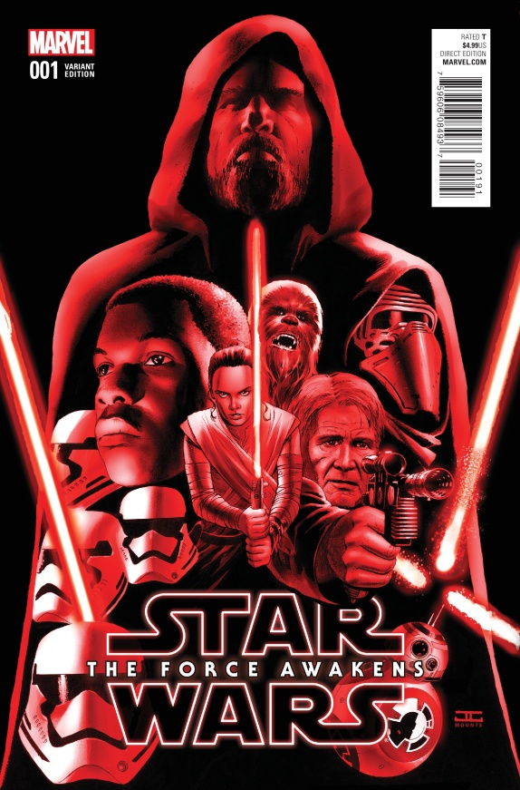 Star Wars The Force Awakens Cover #H