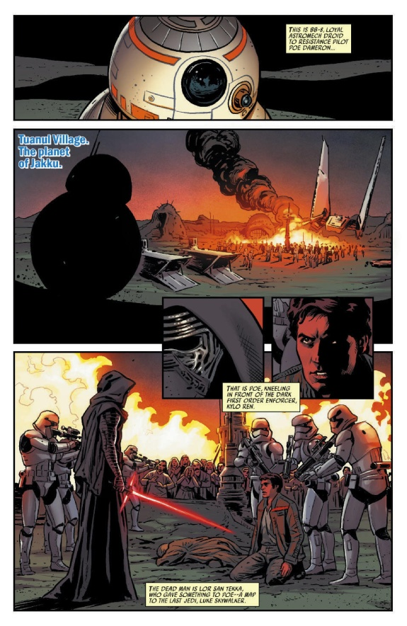 Star Wars The Force Awakens Page #2