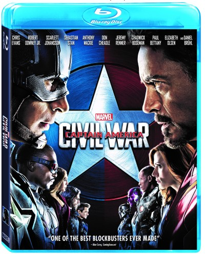Captain America Civil War Blu-ray
