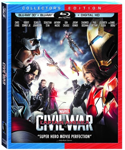 Captain America Civil War Collector's Edition