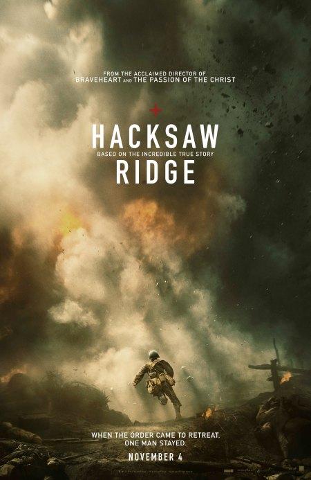 Hacksaw Ridge Poster Large