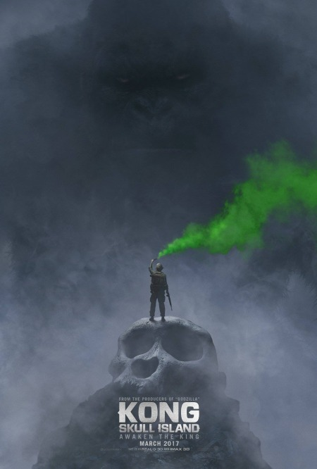 Kong Skull Island Poster #1